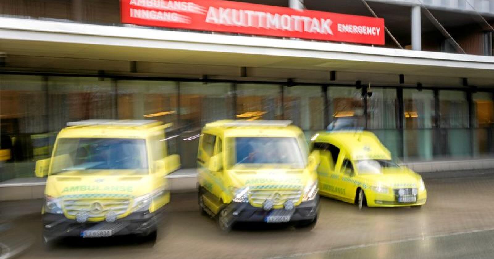Akutt:  MDG Innlandet vil kjempe for å bevare akuttsykehusene i regionen. Foto: Gorm Kallestad/NTB scanpix