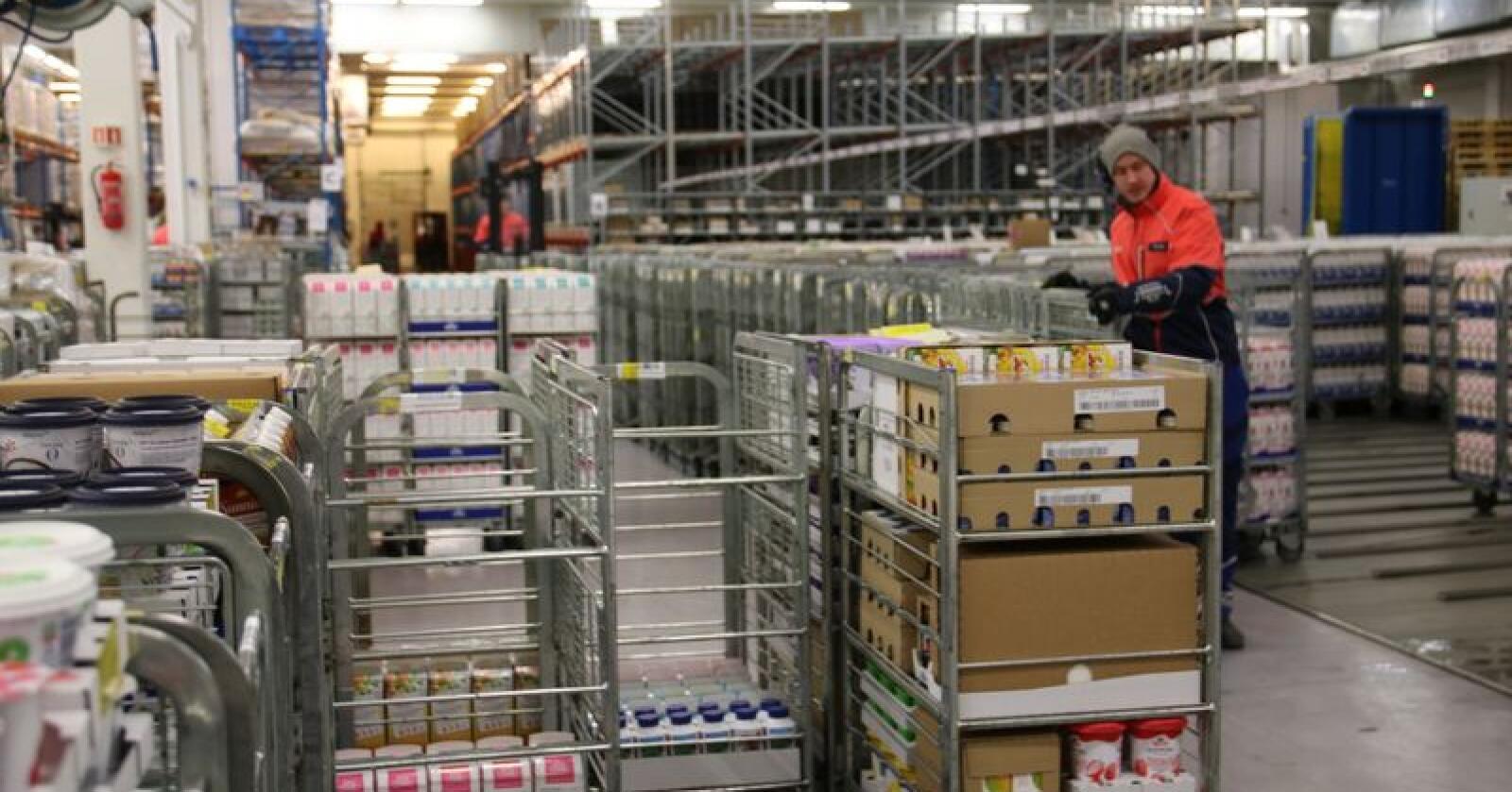 I dag foredler anlegget i Storsteinnes ca. 28 millioner liter kumelk og 7 millioner liter geitemelk. Etter utbyggingen økes kapasiteten med ytterligere 11 millioner liter kumelk. Arkivfoto: Bondebladet