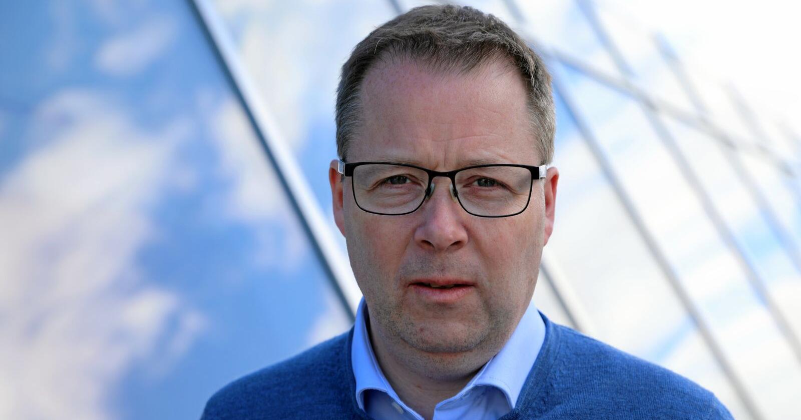 Reagerer: Bjørn Arild Gram, leder i KS. Foto: KS