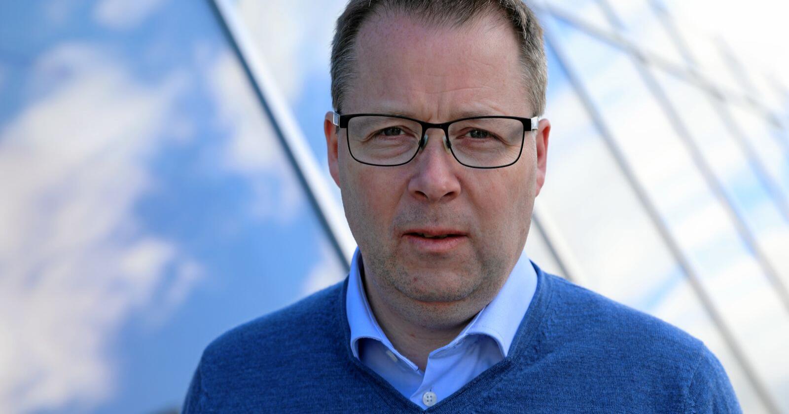 Bjørn Arild Gram, leiar i kommunesektorens organisasjon KS skulle sett at sektoren hadde vore meir involvert i arbeidet med rusreforma. Foto: KS
