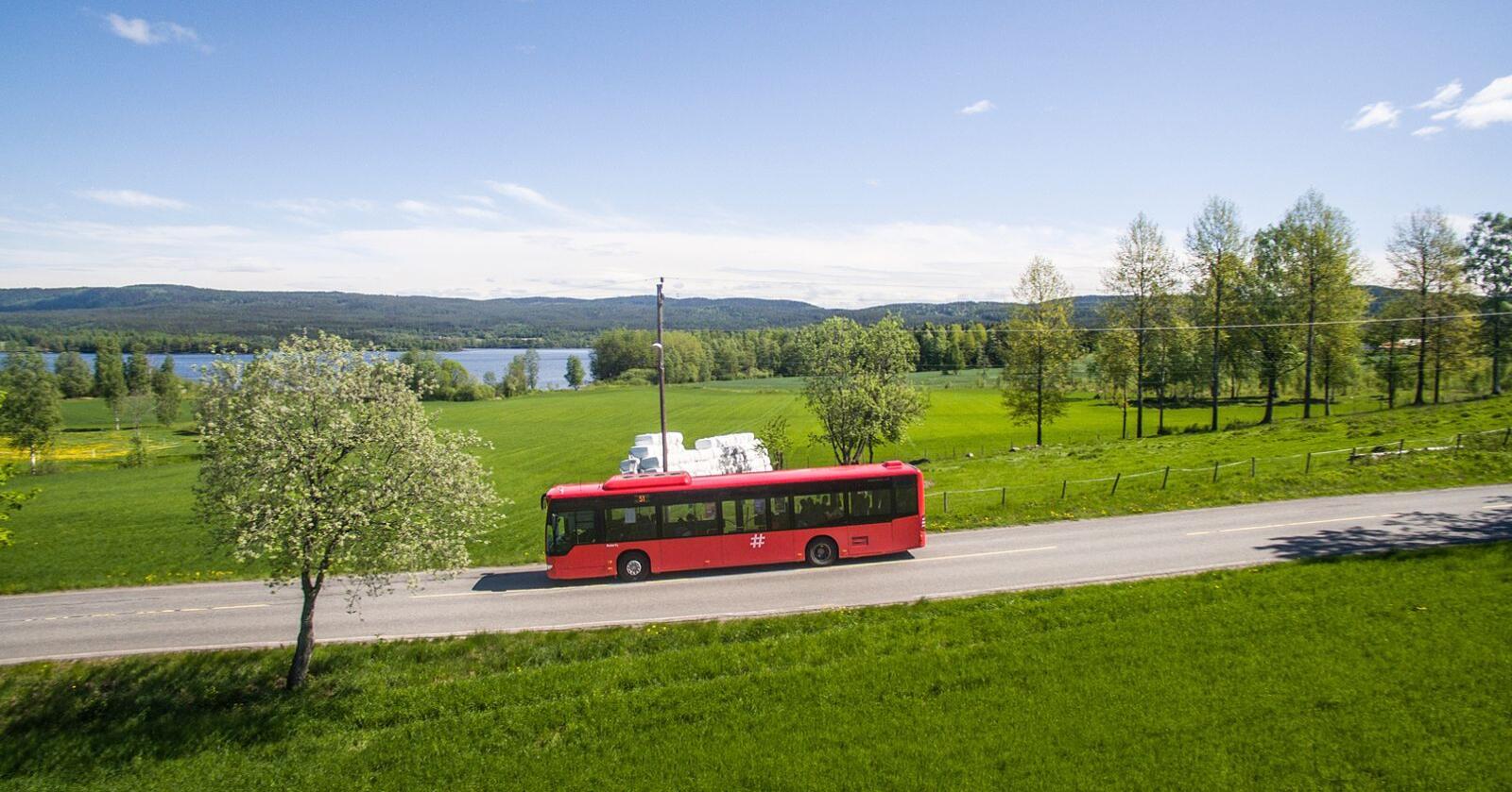 """Stort behov: Bussrute etter bussrute i distriktet er lagt ned med begrunnelsen """"ulønnsom"""". Men hvis markedskreftene skal styre, vil en bygdeungdom neppe noen gang sitte i en buss igjen. Foto: Thomas Brun / NTB"""