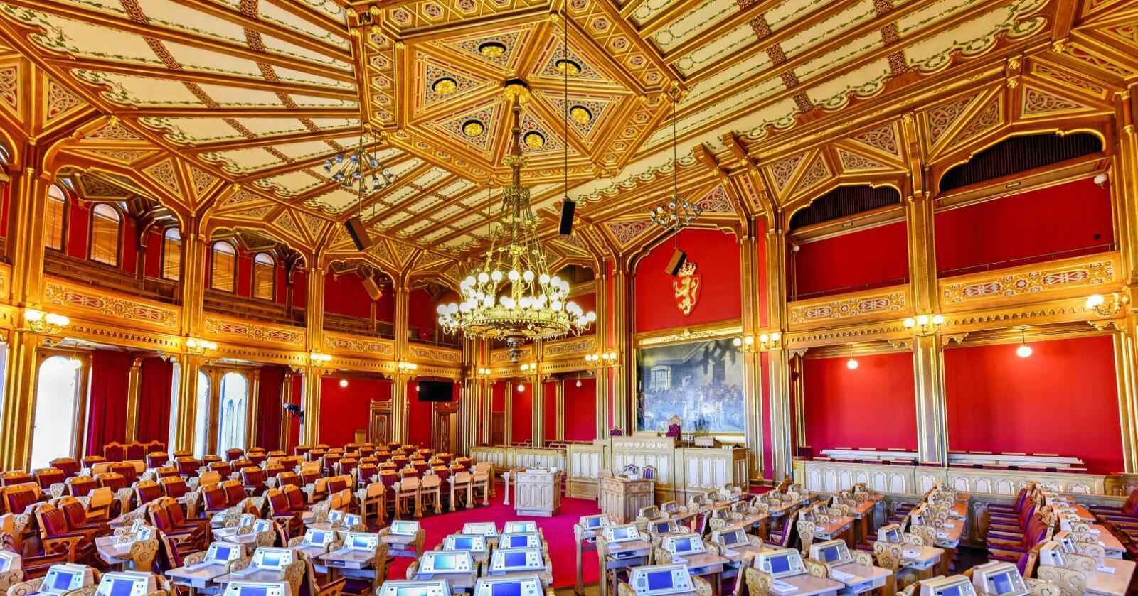 Mer Oslo-makt i denne sal: Med dagens valgordning øker antall stortingsrepresentanter fra Oslo-regionen jevnt og trutt – på distriktenes bekostning. Finnes det ikke alternativer? Foto: Mostphotos
