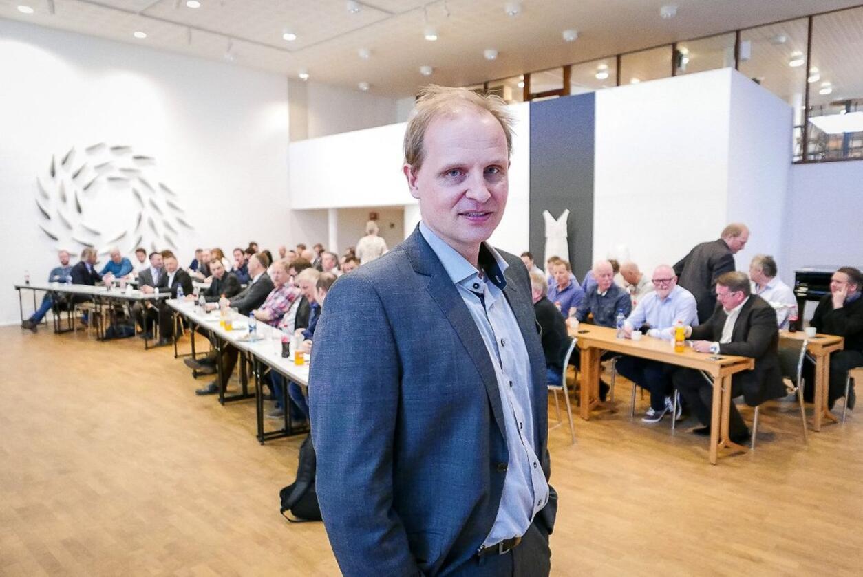 Administrerende direktør i Funn AS, Lars Ivar Simonsen, forventer at flyruta Bodø - Evenes ikke blir lagt ned. Foto: Funn AS
