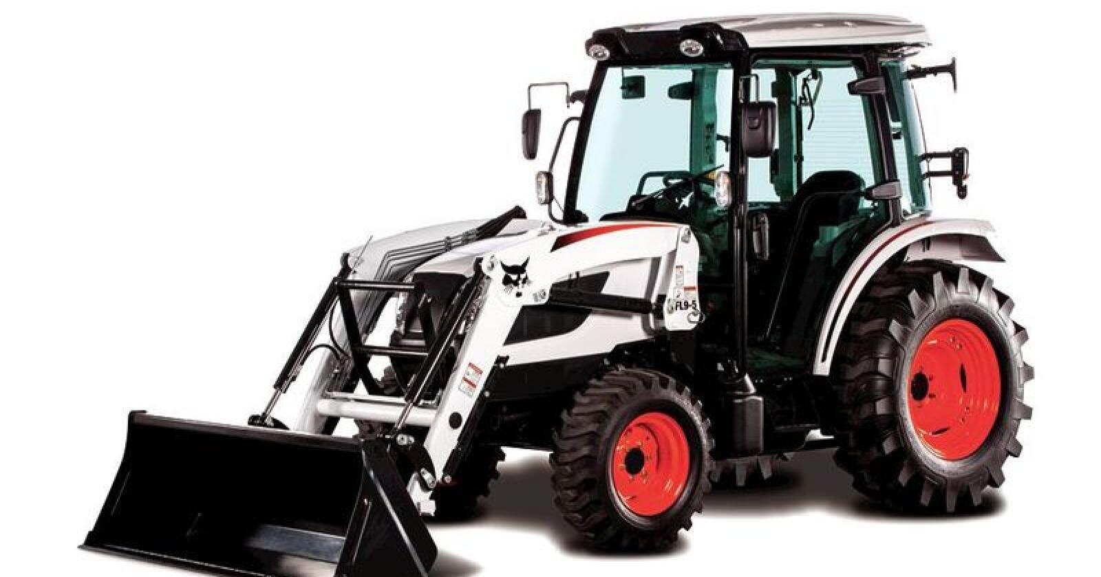 Bobcat er mest kjent for sine kompaktlastere og gravemaskiner her på berget, men satser nå også innen kompakttraktor-markedet. Målet er å produsere hele 140.000 traktorer per år. (Foto: Scott Thuen)