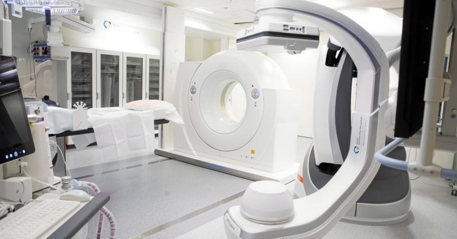Flervalg: Er det ventetid ved Rikshospitalet, bør pasienter kunne ta røntgen hos private. Foto: Terje Pedersen / NTB scanpix