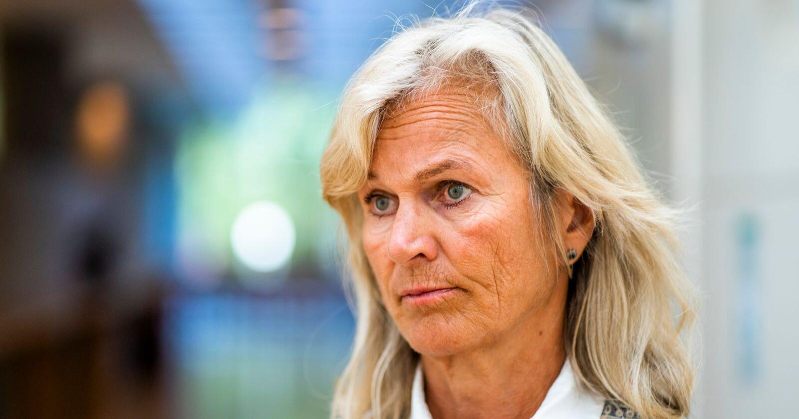 Kristin Krohn Devold som er direktør i NHO Reiseliv, er til stede på NHO Reiselivs frokostmøte i NHO-bygget på Majorstuen i Oslo tirsdag.Foto: Håkon Mosvold Larsen / NTB