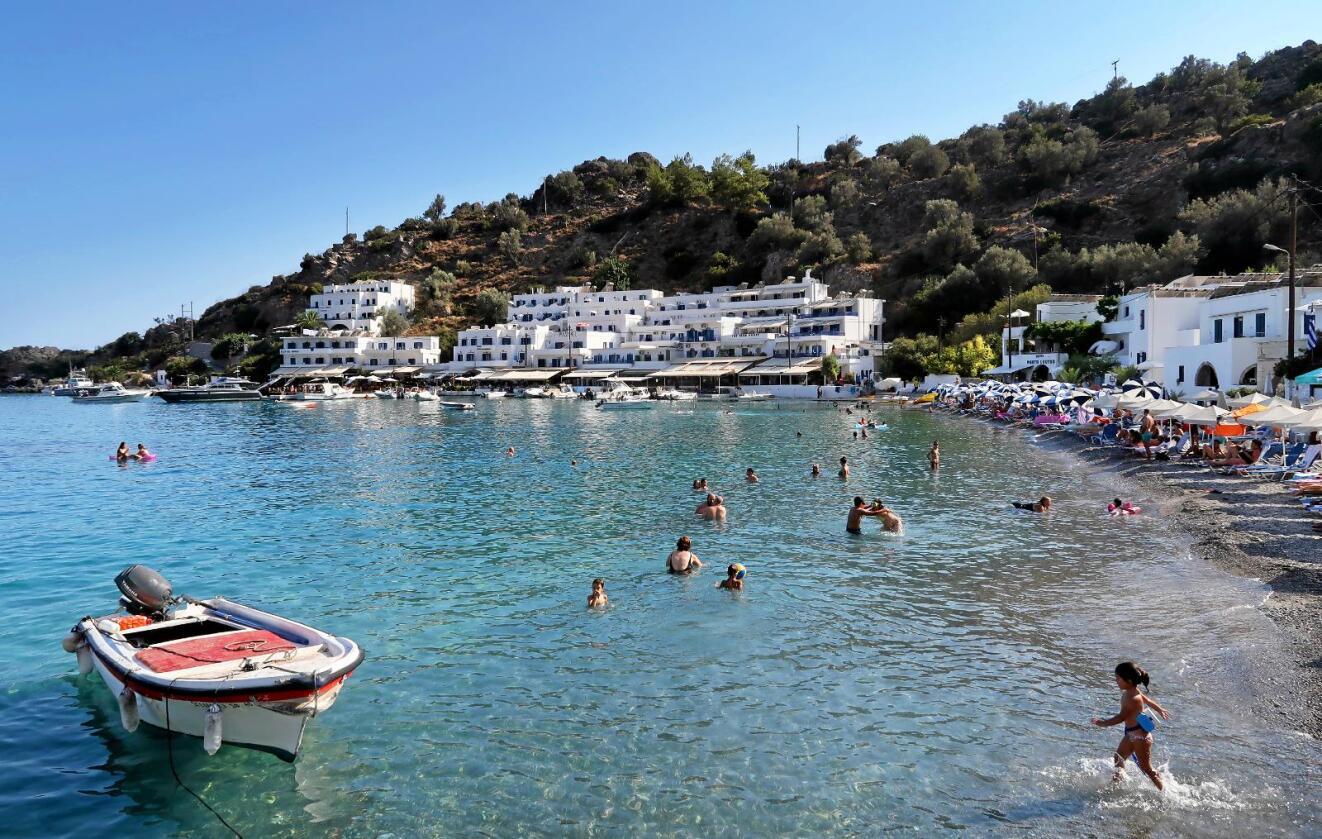 Røft: Hellas er et atypisk EU-kriseland. Andre klarer seg bedre, skriver innsenderen. Foto: Halvard Alvik.