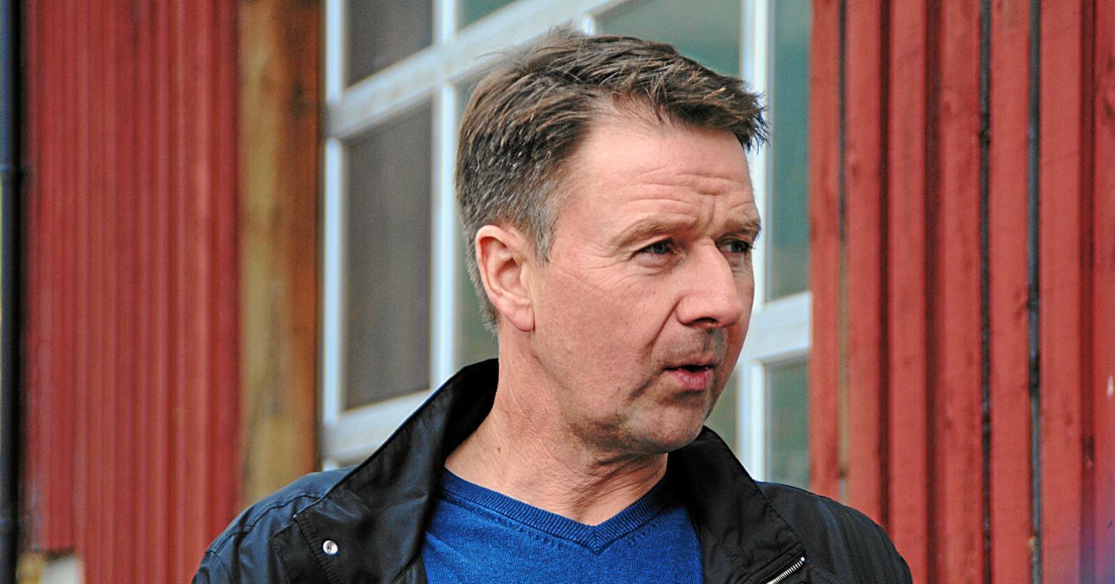 Leder i Norges Bondelag, Lars Petter Bartnes, frykter for arbeidsplassene hvis Norge gir Storbritannia egne eksportkvoter på landbruksvarer til Norge.