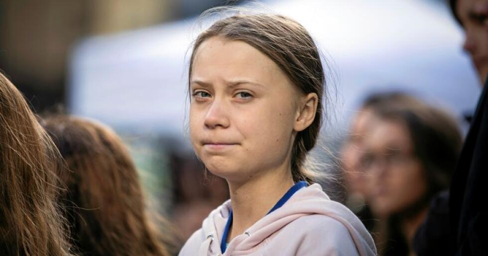 Makt og ansvar: Greta Thunberg er ikke en hvilken som helst art. Foto: Melissa Renwick/AP