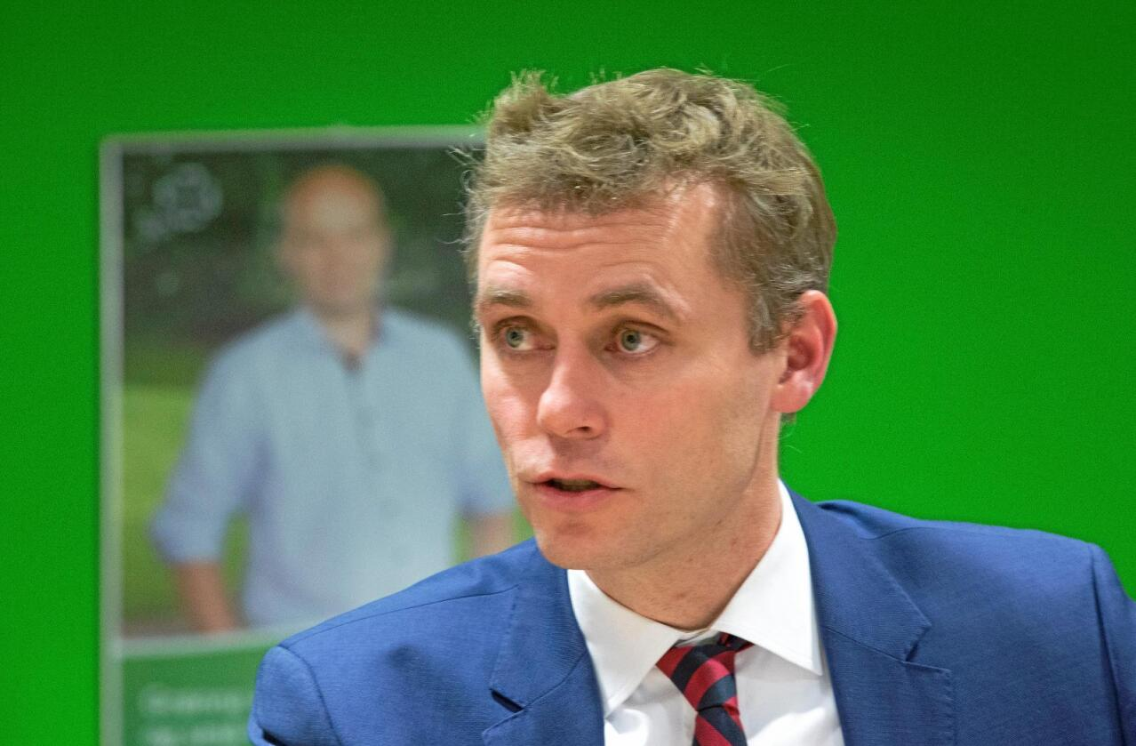 Tilbake: Når sexmelding-saken er avsluttet i Senterpartiet, vil trolig Ola Borten Moe gjenoppta vervet som nestleder. Foto: NTB scanpix