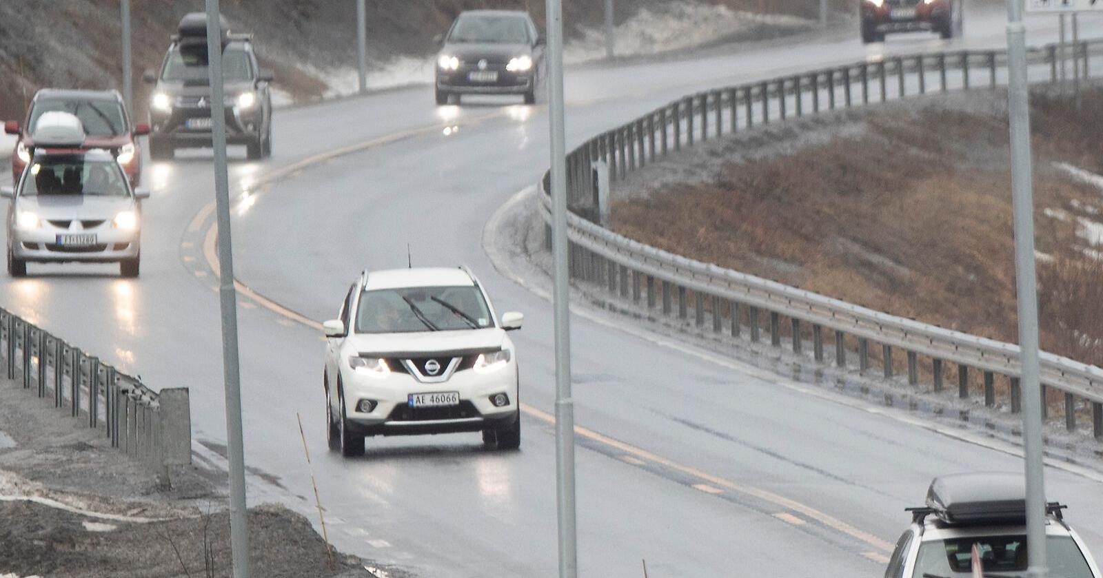 Det kjører fortsatt biler på norske veier som ikke er forsikret. Illustrasjonsfoto: Geir Olsen / NTB scanpix