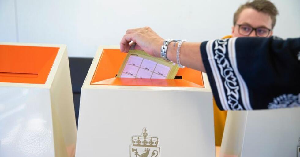 Valget: Velgerne har ikke stemt i affekt. Foto: Berit Roald/NTB scanpix