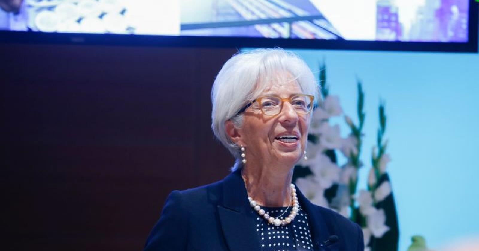 Påtroppende sentralbanksjef Christine Lagarde mener euroland som går med overskudd bør bruke mer penger for å dempe vekstfallet i eurosonen. Arkivfoto: Terje Pedersen / NTB scanpix