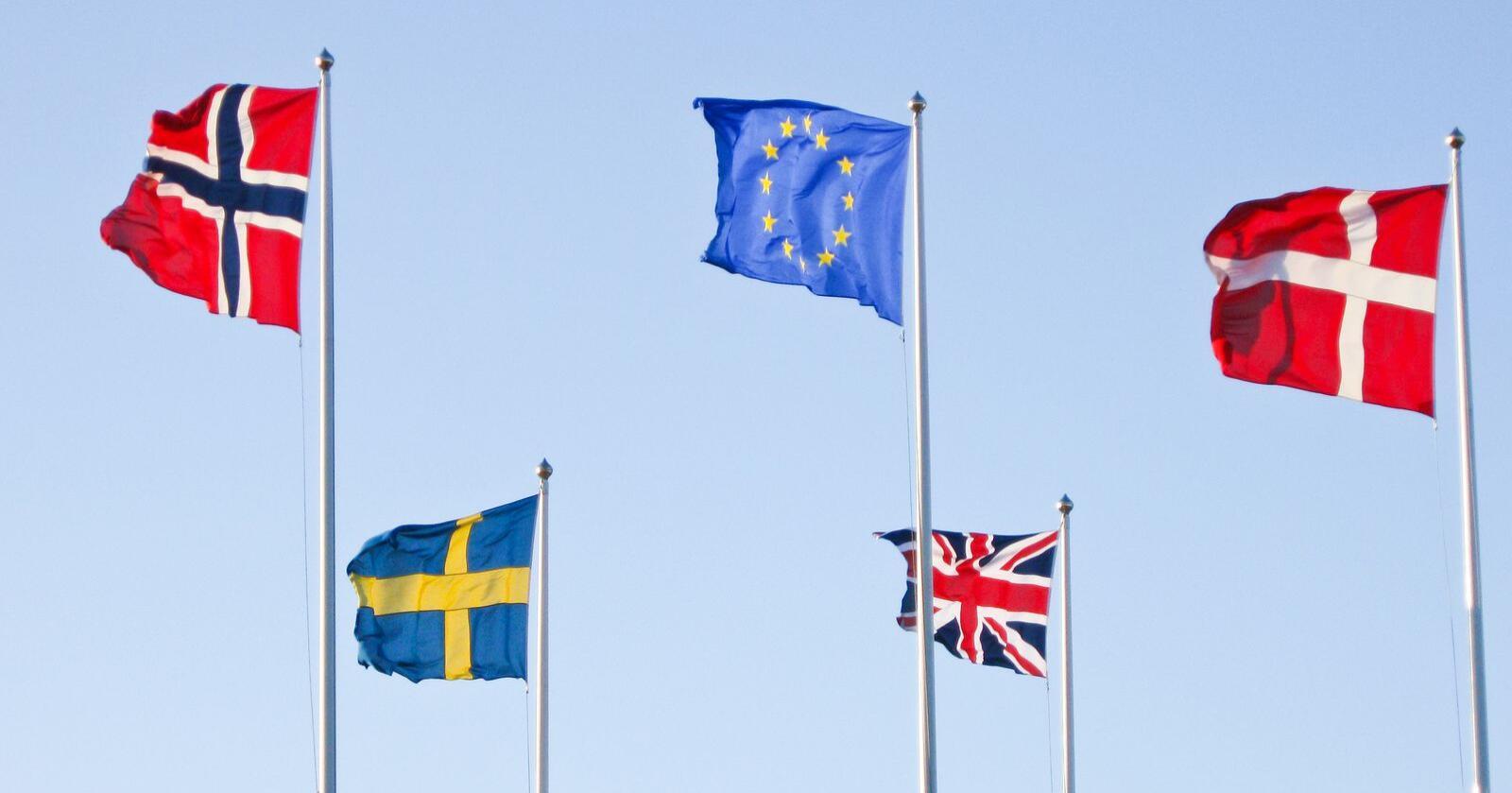 Selv om britene nå er ute av Den europeiske union, øker Norge sitt økonomiske bidrag til EU. Foto: Mostphotos