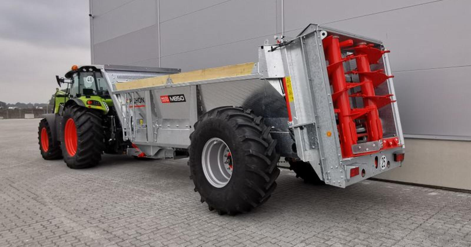 Claas-importøren tar over salget av de franske gjødselvognene fra Pichon