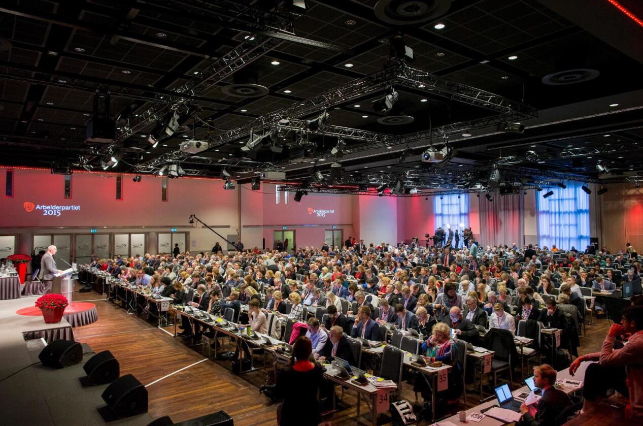 Ap-landsmøtets vedtak om utsettelse vente med plassering av iskanten, høster kritikk fra Venstre og SV. Foto: Vegard Wivestad Grøtt / NTB scanpix