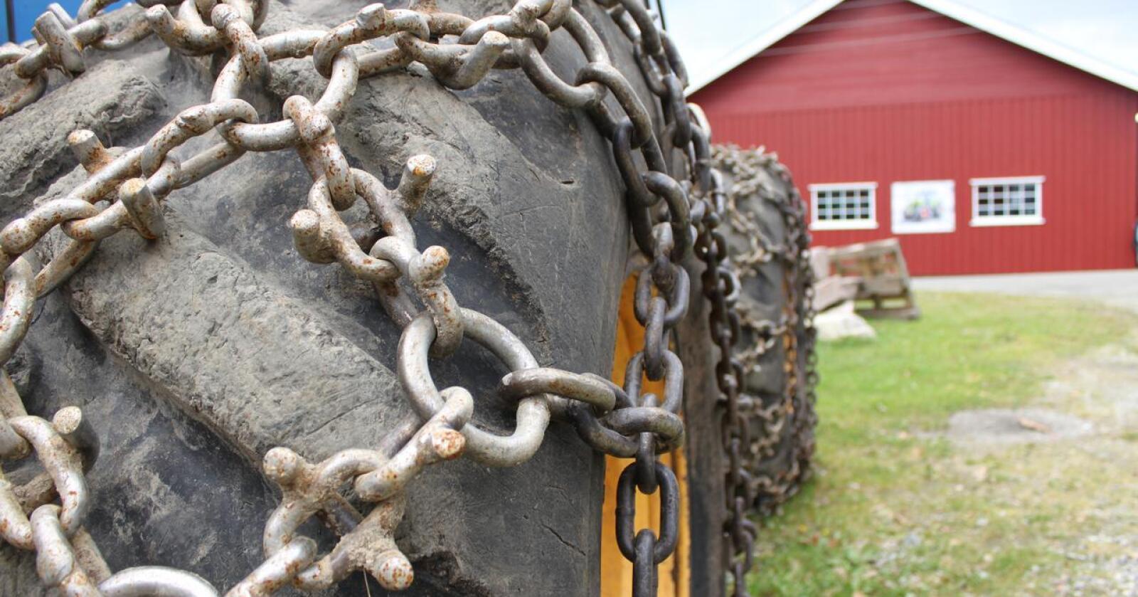 Retur: Nå kan du snart returnere gamle kjettinger og få rabatt om du skal handle nye. Arkivfoto: Traktor