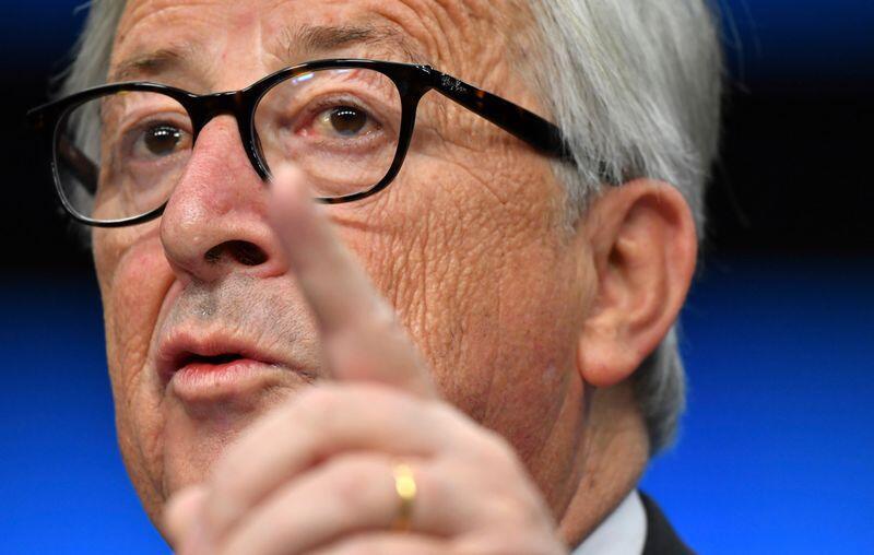 EUs medlemsland gjør det nå klar at de ikke går med på å gi det nye arbeidsmarkedsbyrået ELA like stor makt som EU-kommisjonen opprinnelig foreslo. Bildet viser EU-kommisjonens president Jean-Claude Juncker. Foto: Geert Vanden Wijngaert / AP / NTB scanpix