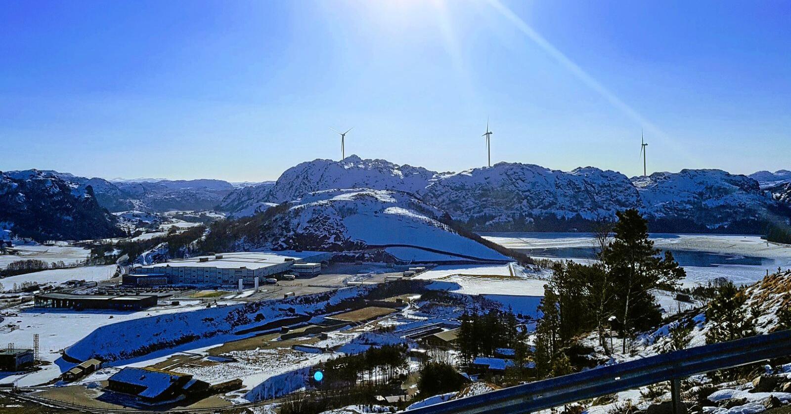 Norgesgruppen har selv investert i fornybar energi og vindkraft gjennom sitt selskap Asko fornybar. Foto: Norgesgruppen