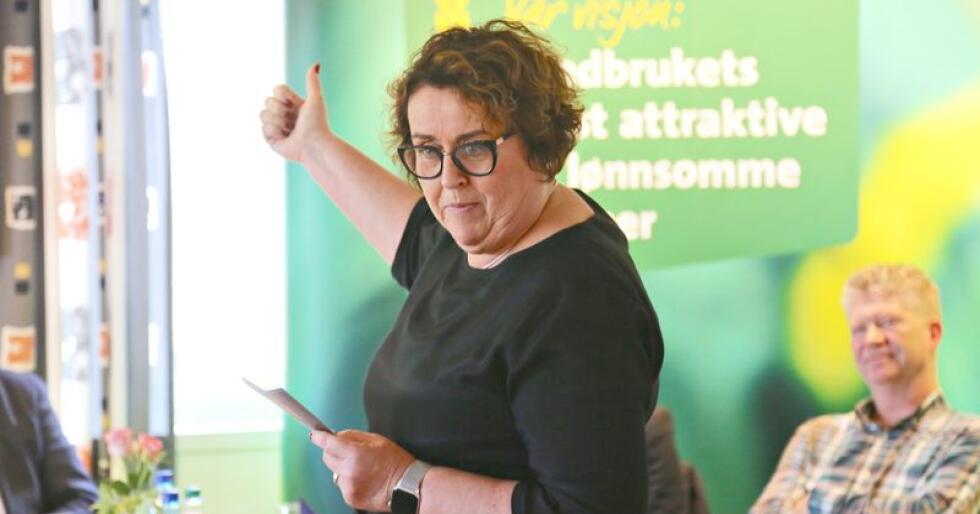 Fornøyd: Landbruks- og matminister Olaug Bollestad (KrF) er fornøyd med eget partis fotavtrykk i årets jordbruksavtale. Foto: Bethi Dirdal Jåtun