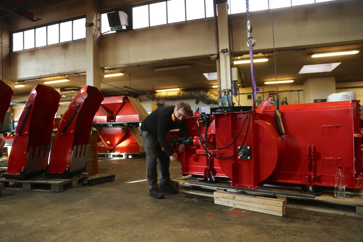Full fres: Merkevaren Globus vil bestå, men all produksjon er flyttet til Nærbø og Herde Industrier AS, som skal utvikle produktene videre.