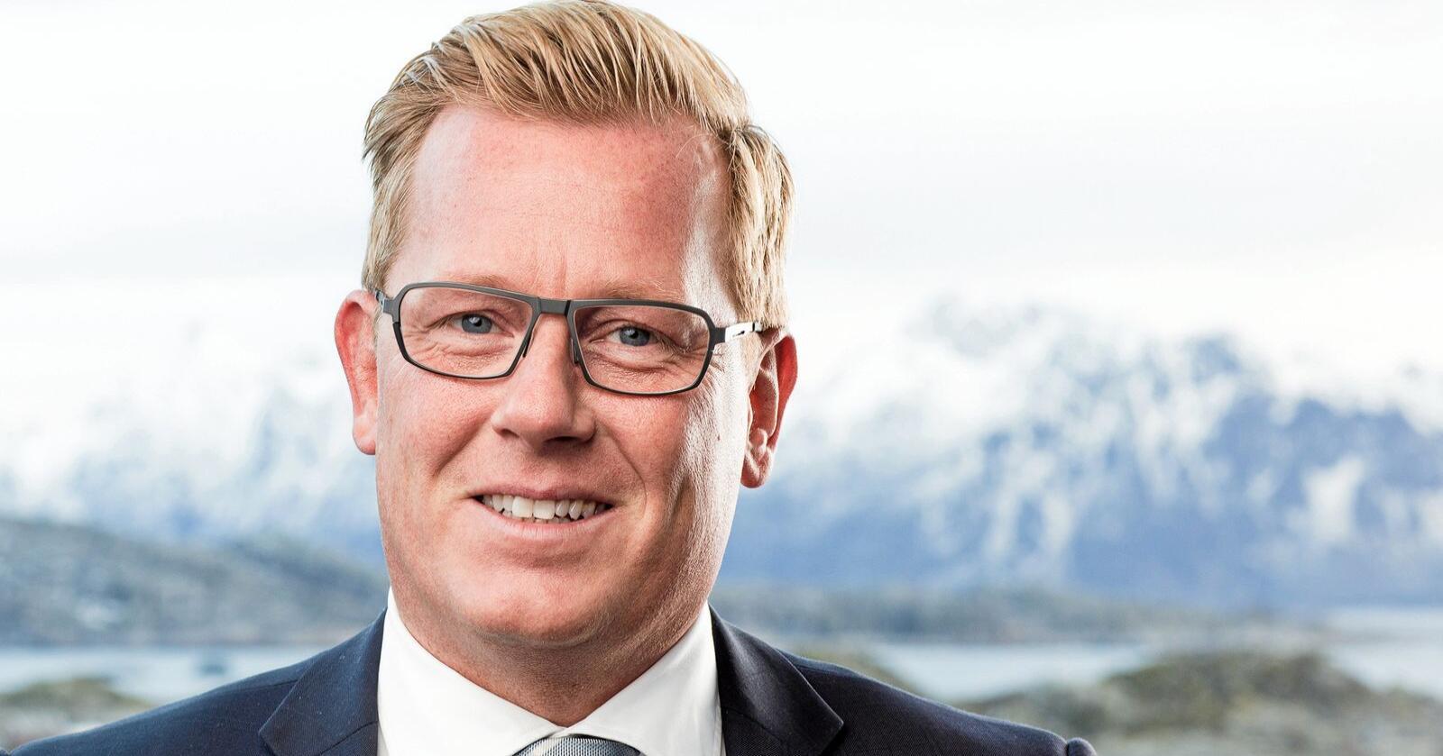 Erik Taraldsen er hotellsjef på Thon Hotell i Lofoten. Foto: Thon