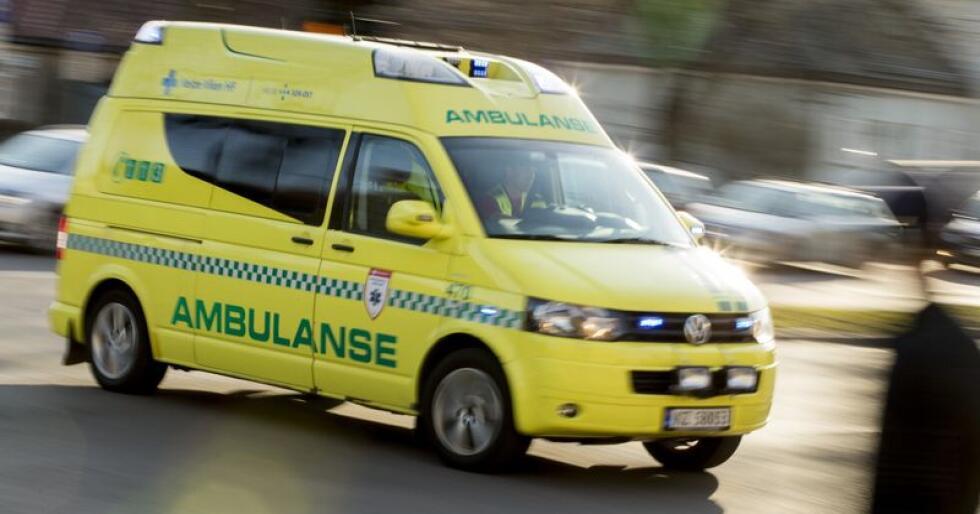 Ordførarane i Ulvik og Voss meiner Stortinget bør lovfesta responstida til ambulansane. Foto: Vegard Wivestad Grøtt / NTB scanpix / NPK