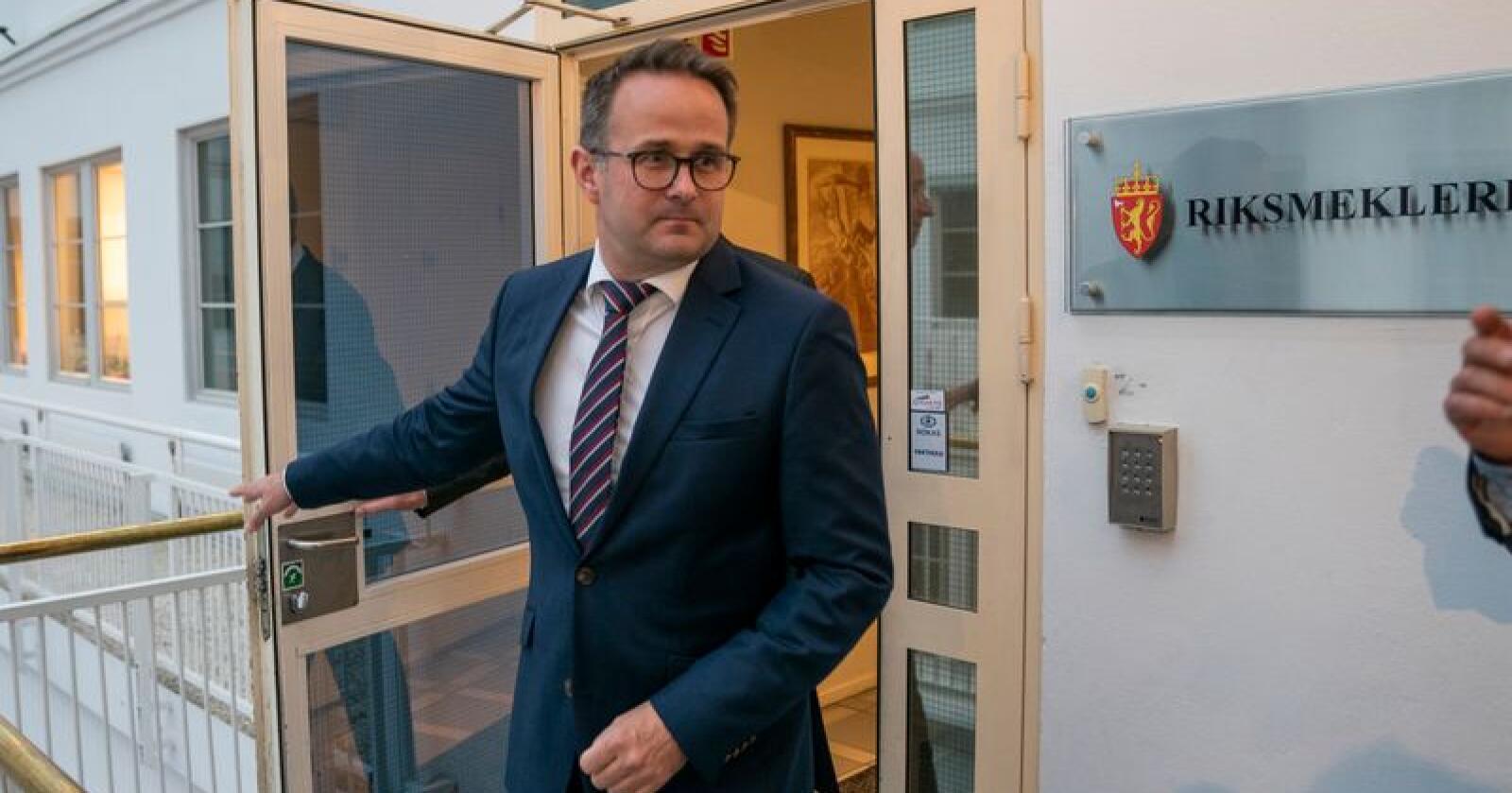 Riksmekler Mats W. Ruland måtte gi opp å få enighet mellom partene i meklingen mellom YS Spekter og Spekter. Arkivfoto: Heiko Junge / NTB scanpix