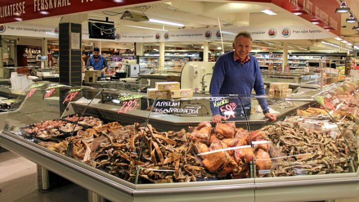 Lar du deg friste av en velfylt kjøttdisk? Det er ingen skam! Men det bør kanskje ikke være førstevalget hver dag. Foto: Lise Haug