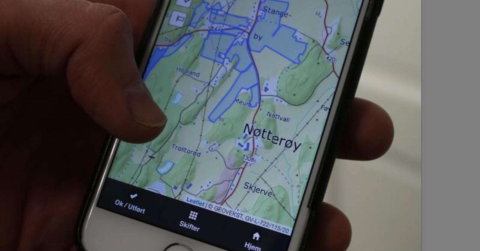 Mye er gjenkjennelig i Skifteplan web, men kartene er nye. Foto: Dag Idar Jøsang