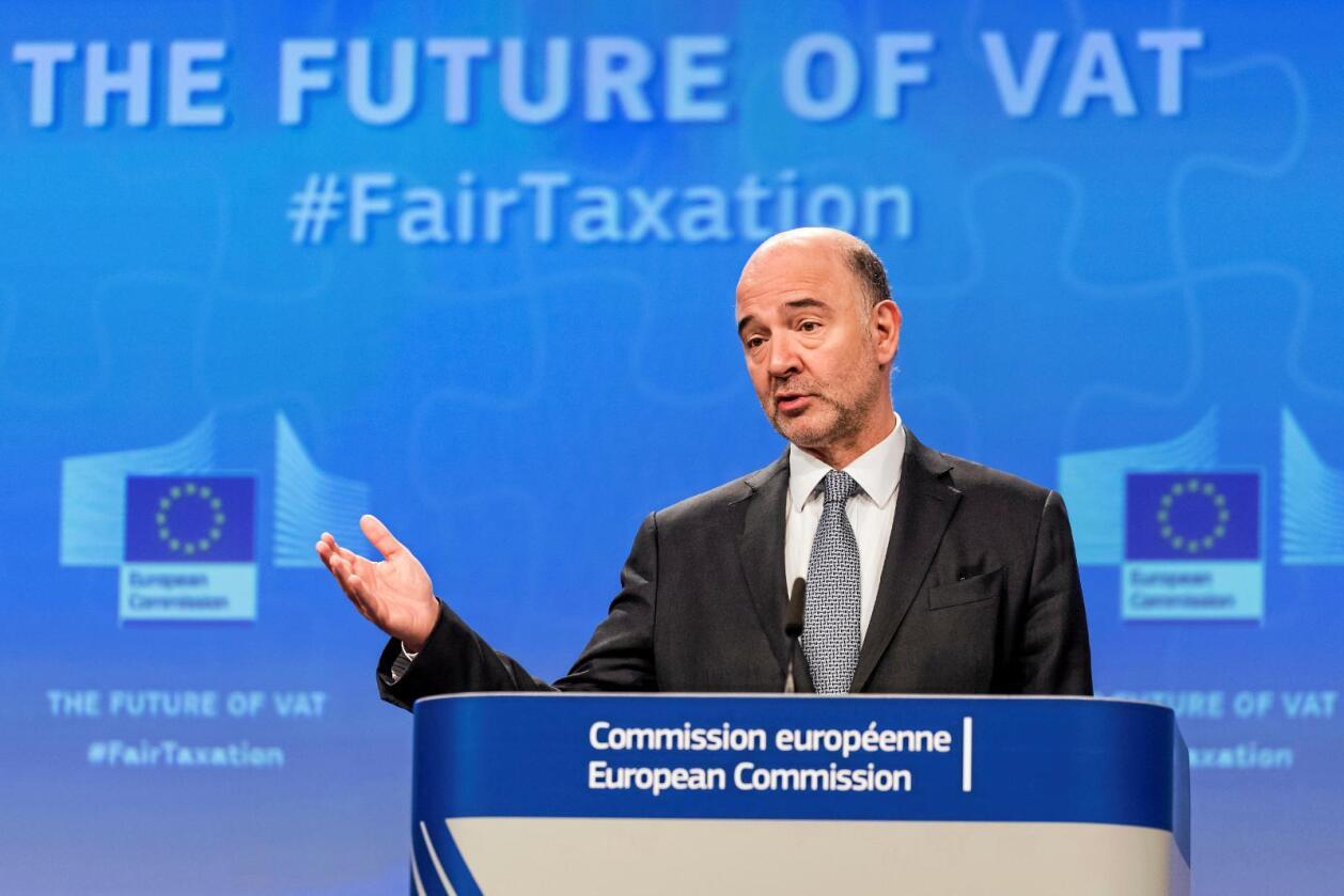 """Refser: EUs finanskommissær refser Irland og Nederland for å tillate """"aggressiv skattetilrettelegging"""". Foto: NTB/Scanpix"""