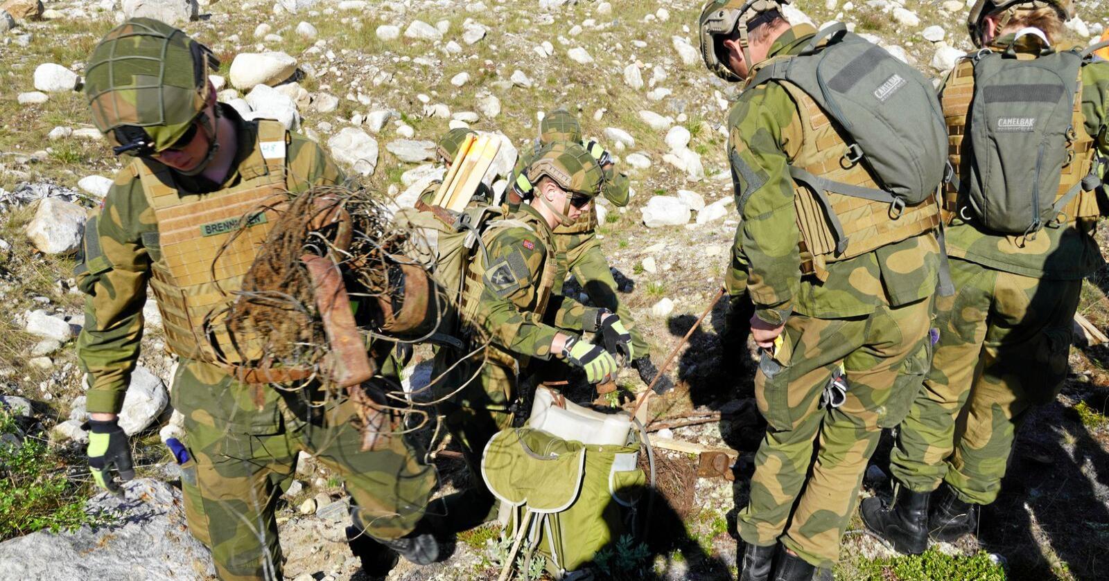 Bind og tamponger har vært et tema i Forsvaret den siste tiden. Illustrasjonsfoto: Kenneth Lervik / Forsvaret