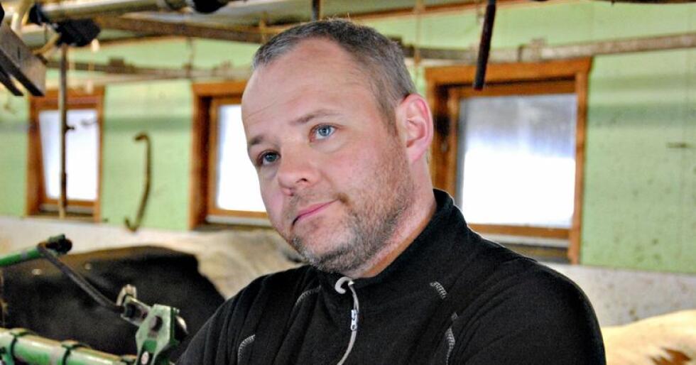 Fordeling: Det må være en fordeling mellom redusert forholdstall og utkjøpsordning for å få ned volumet, mener Anders Hole Fyksen i Gausdal. Foto: Oppland Bondelag