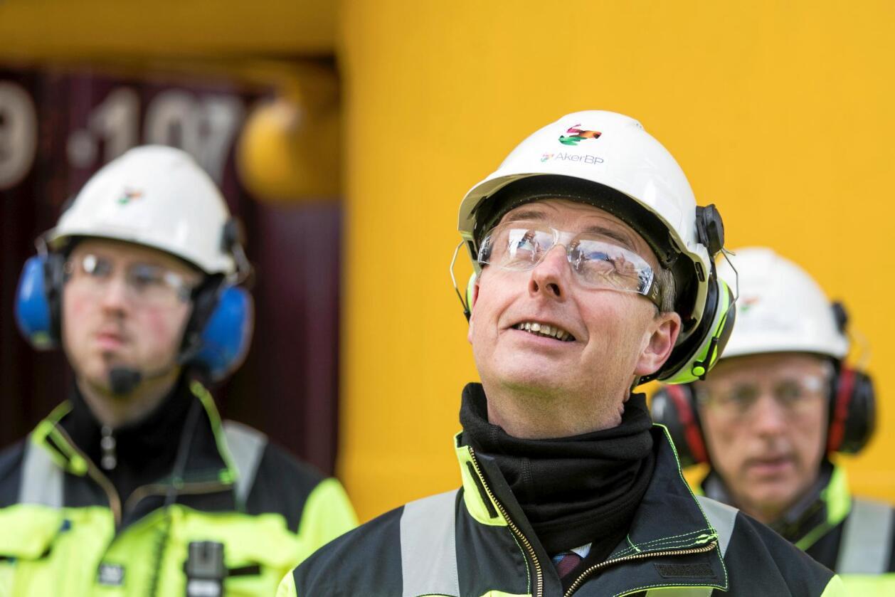 Drømmerier: Olje og energiminister Terje Søviknes mener de som er kritisk til norsk olje- og gassproduksjon driver drømmerier. Foto: Håkon Mosvold Larsen/NTB scanpix