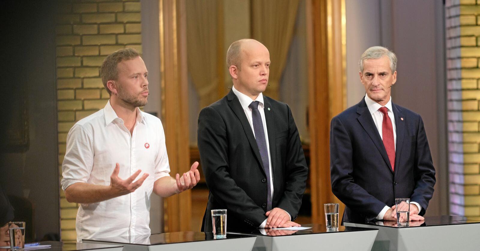Liker ikke Solberg: Ellers vet velgerne vet ganske lite om de rødgrønne i 2021. Foto: Ketil Blom Haugstulen