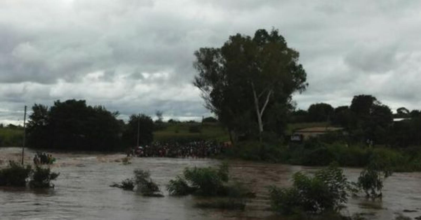 Malawi, et av verdens fattigste land, er rammet av en ny flomkatastrofe. Foto: Malawi Department of Disaster Management Affair/Facebook (skjermdump)