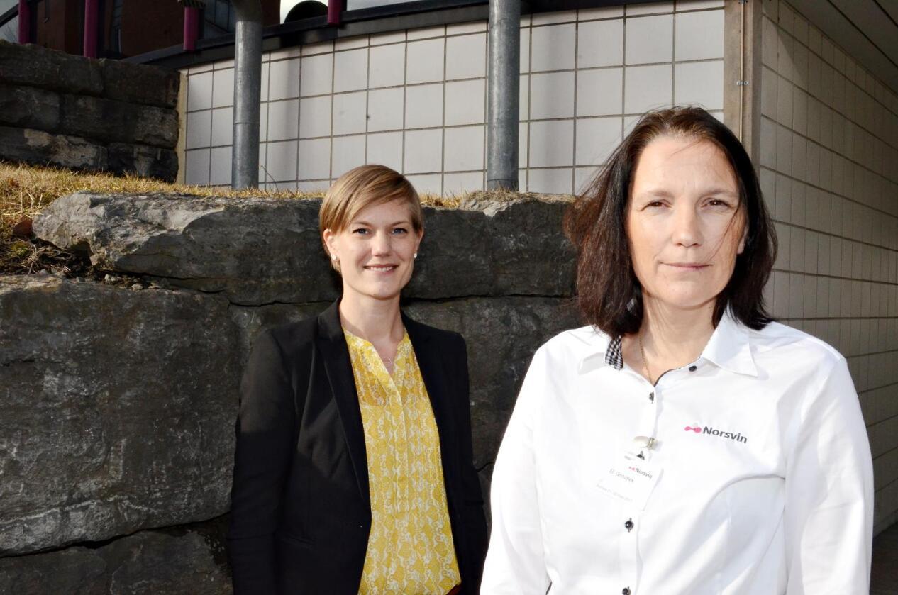 Dyrevelferd: Dyrevelferd er et argument for å genredigere, mener Sigrid Bratlie Thoresen fra Bioteknologirådets sekretariat og FOU-sjef Eli Grindflek i Norsvin.
