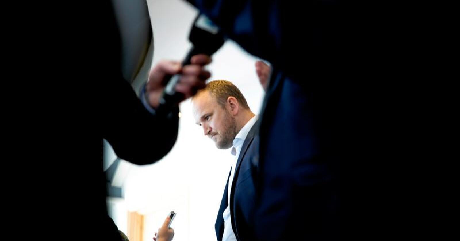 Svarar: Samferdsleminister Jon Georg Dale. Foto: Berit Roald / NTB scanpix