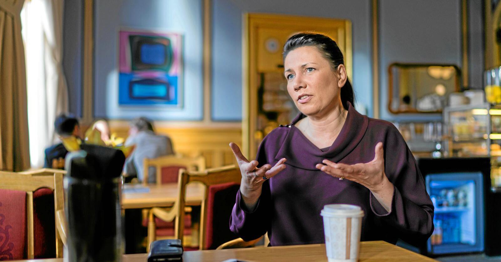 Høyre vil skape rullebånd inn i arbeidslivet, ikke ut av det, skriver Heidi Nordby Lunde. Foto: Ketil Blom Haugstulen