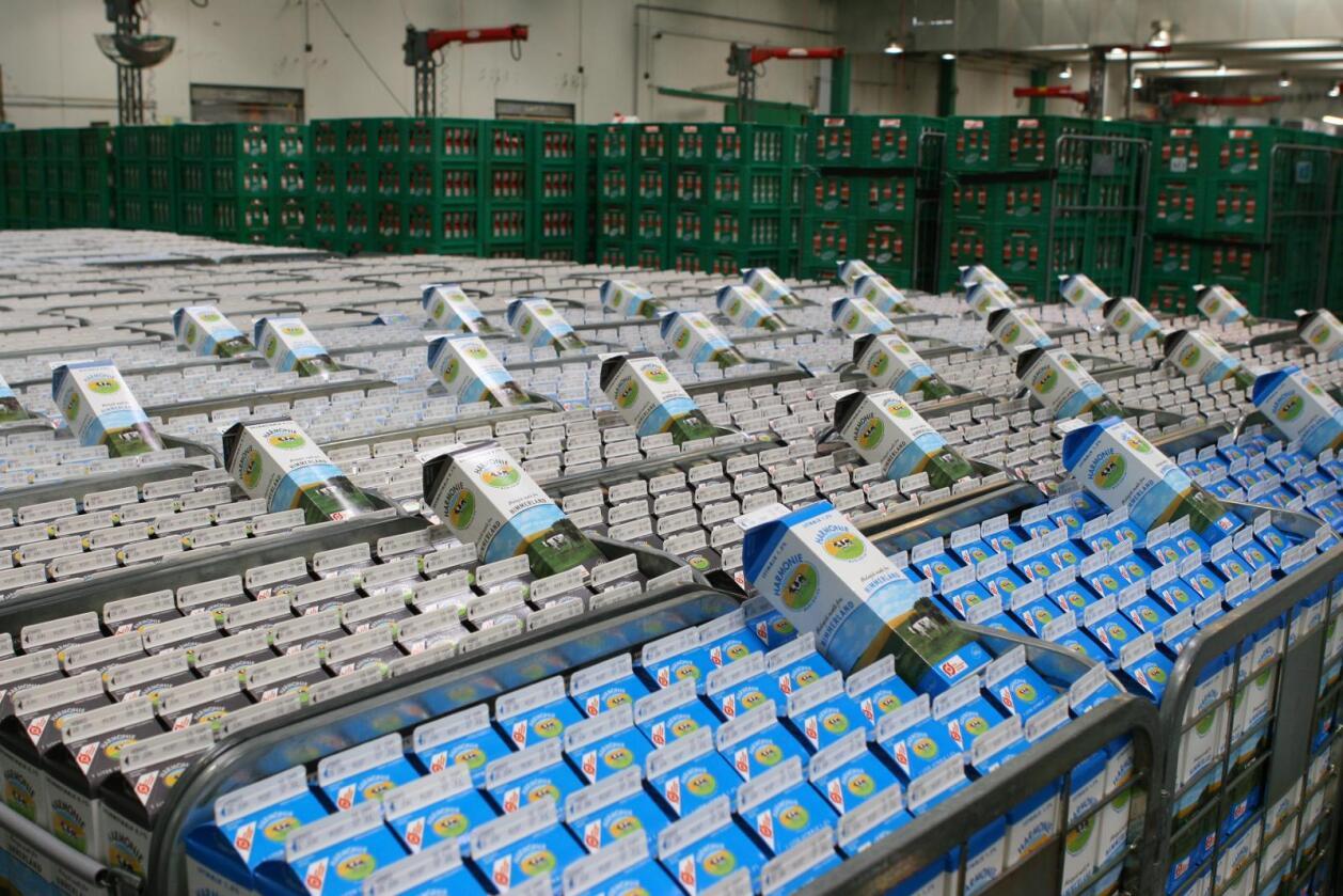 Vokser igjen: Andelsmeieriet Arla Foods i Danmark opplever igjen sterk vekst på flere områder. Omsetningen ventes å økes kraftig for 2017. (Foto: Illustrasjonsbilde Arla Foods)