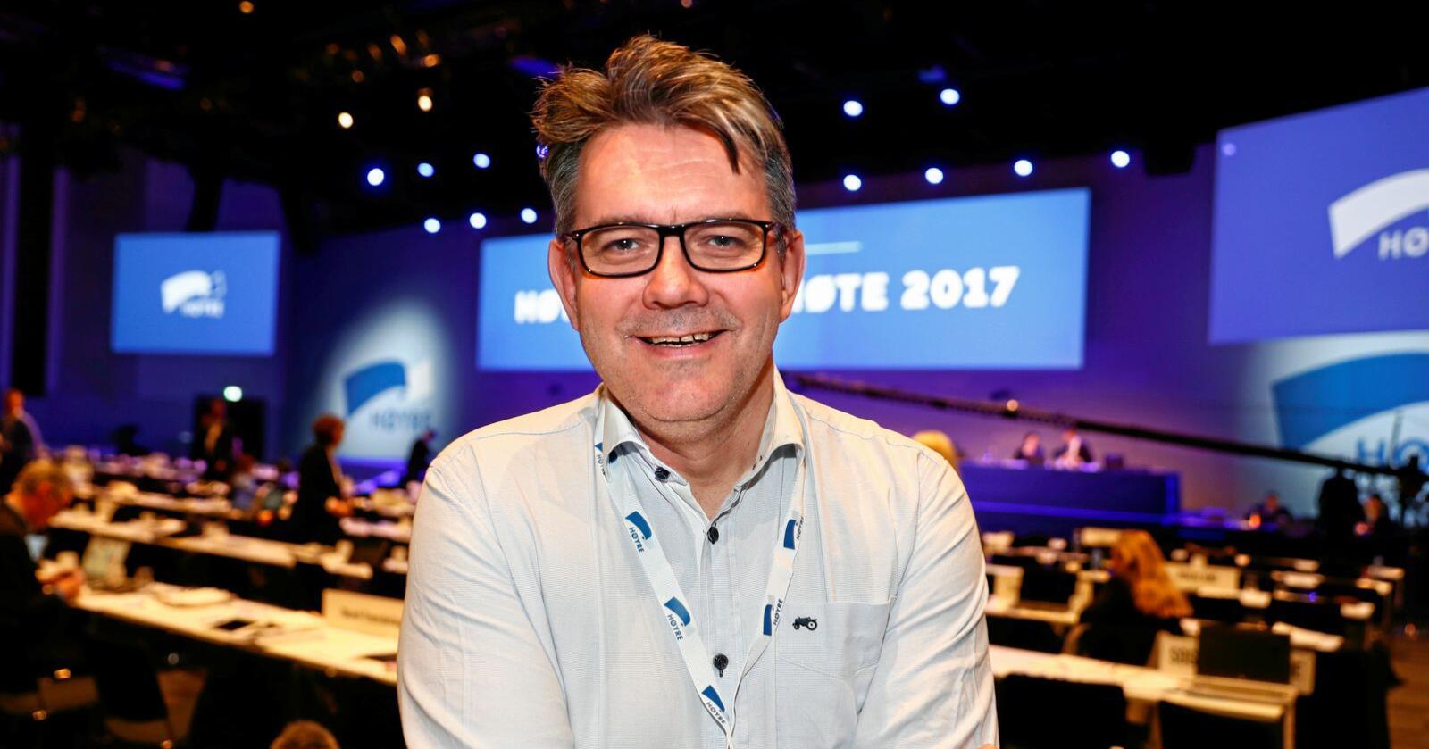 Stortingspolitiker Tom Christer Nilsen (H) vil at flere skal velge torsk i jula. Foto: Terje Pedersen / NTB scanpix