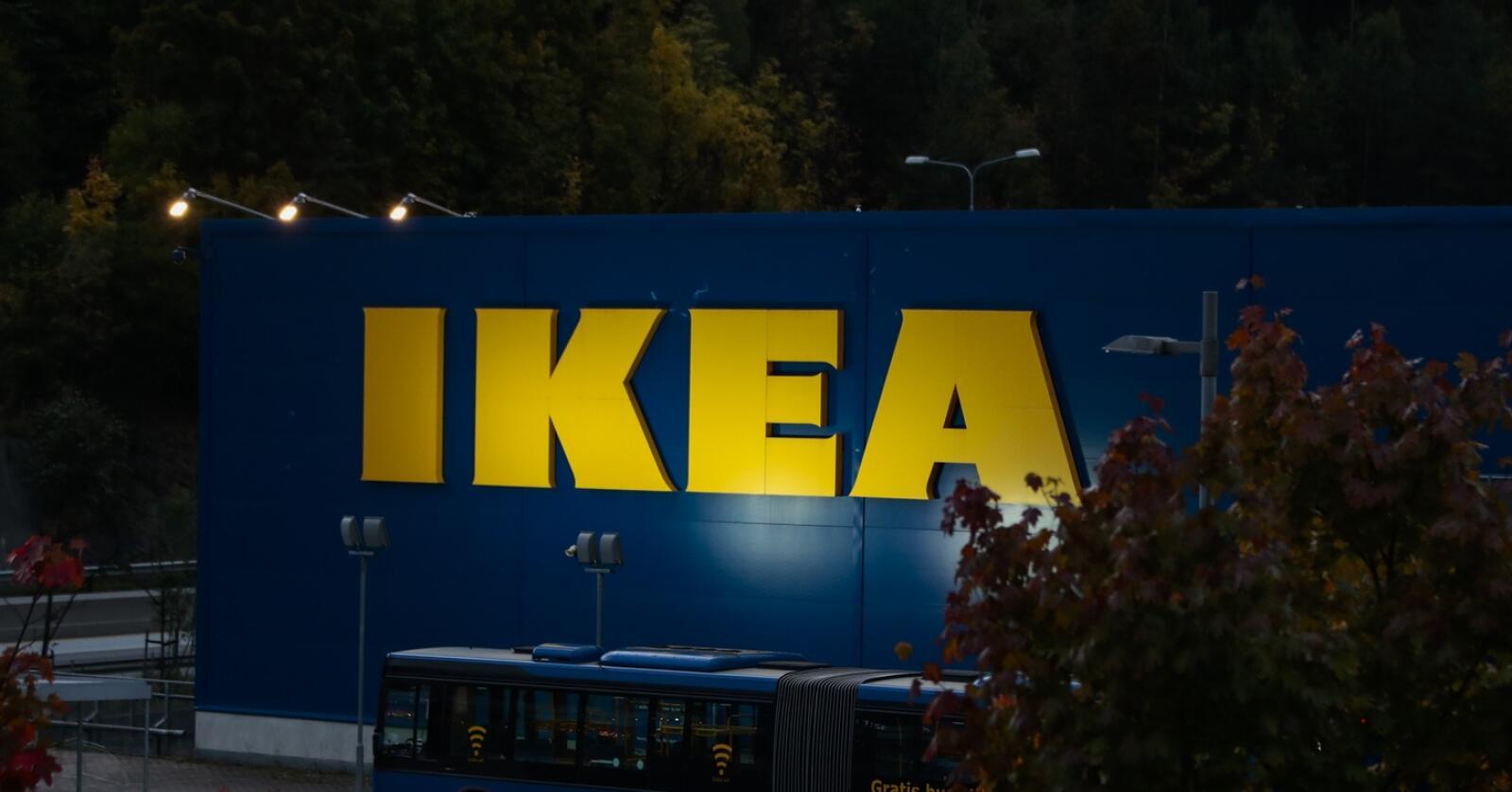 Ikea på Slependen i Oslo. Illustrasjonsfoto: Lise Åserud / NTB