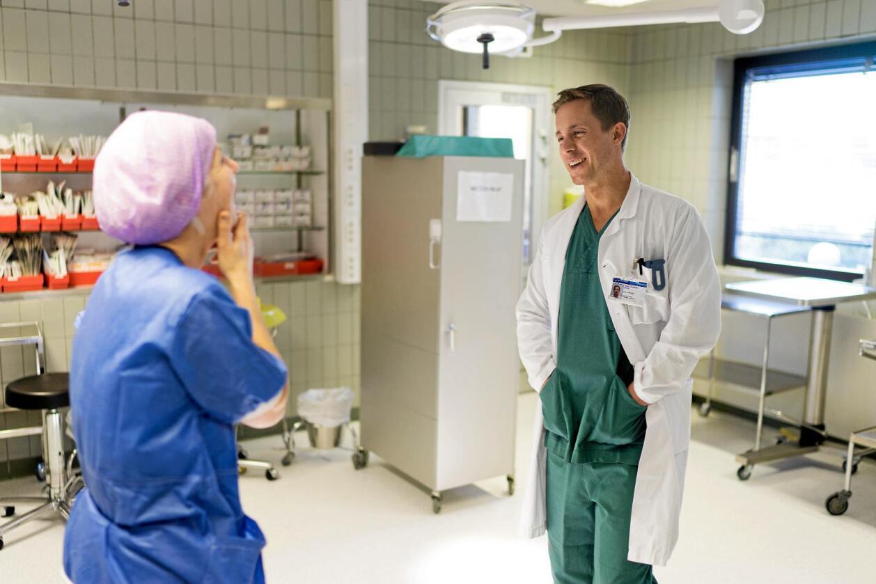 John Christian Glent er blant legene som har advart mot bemanningssvikt. Foto: Ketil Blom Haugstulen
