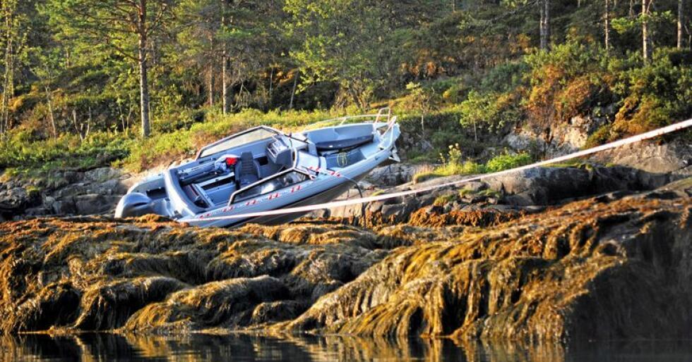 Ap-ordfører Ingrid Aune (33) og Eivind Olav Kjellbotn Evensen døde i en båtulykke i Namsos natt til torsdag. Foto: Karl Erik Hovik Aune/ Namdalsavisa / NTB scanpix