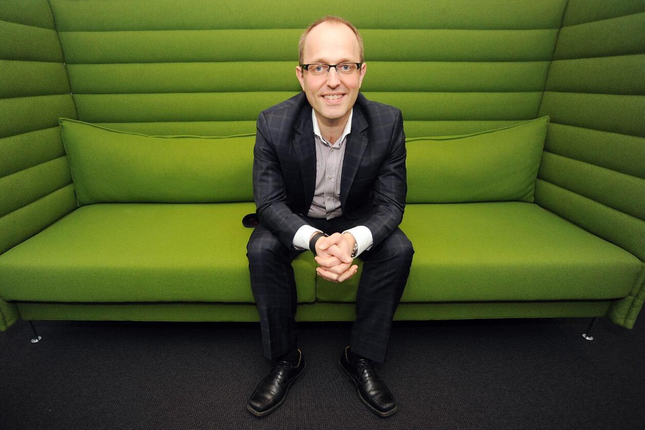Nationen har økt opplaget mens Mads Yngve Storvik har vært sjefredaktør. Foto: Siri Juell Rasmussen