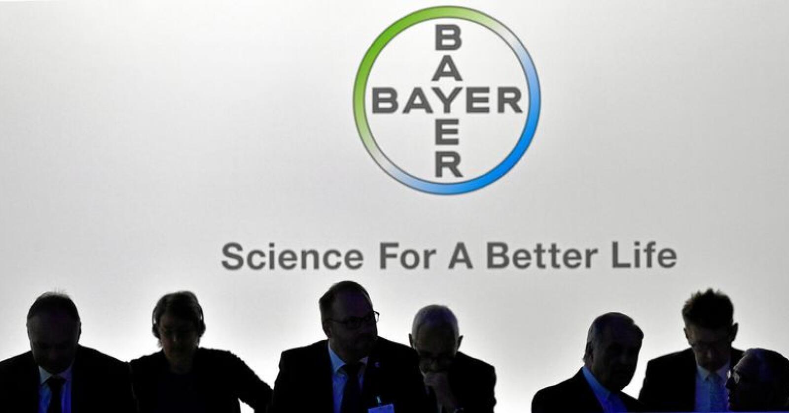 Det tyske selskapet Bayer eig Monsanto. Dei vurderer no om dommen skal ankast. Foto: Mostphotos