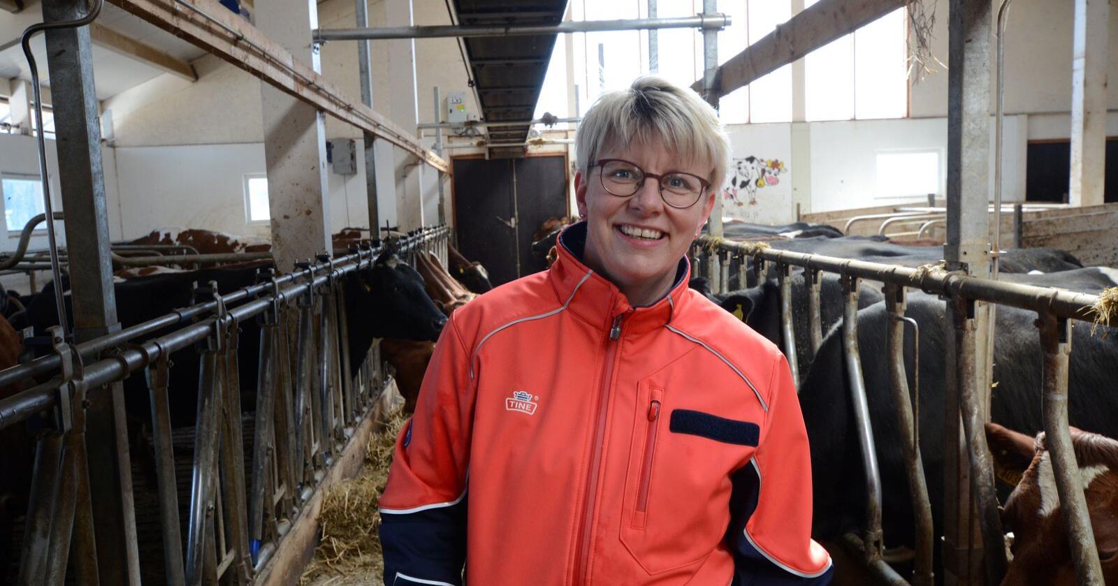 1,07: Marit Haugen er glad forholdstallet er høyt, selv om bakteppet er dystert. (Arkivfoto)