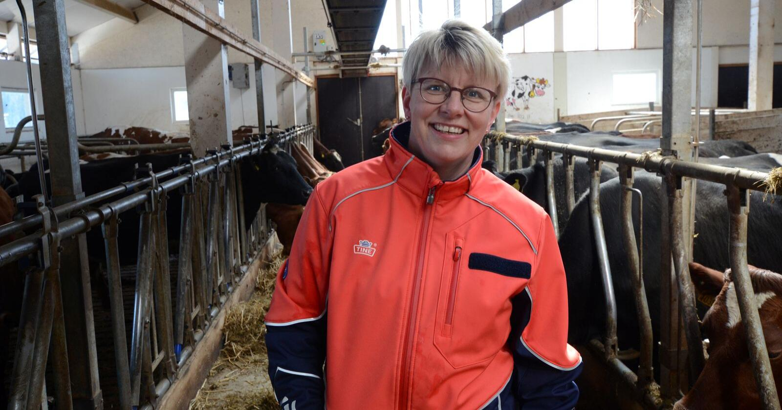 STYRELEDER: Marit Haugen er styreleder i Tine. Arkivfoto: Norsk Landbruk