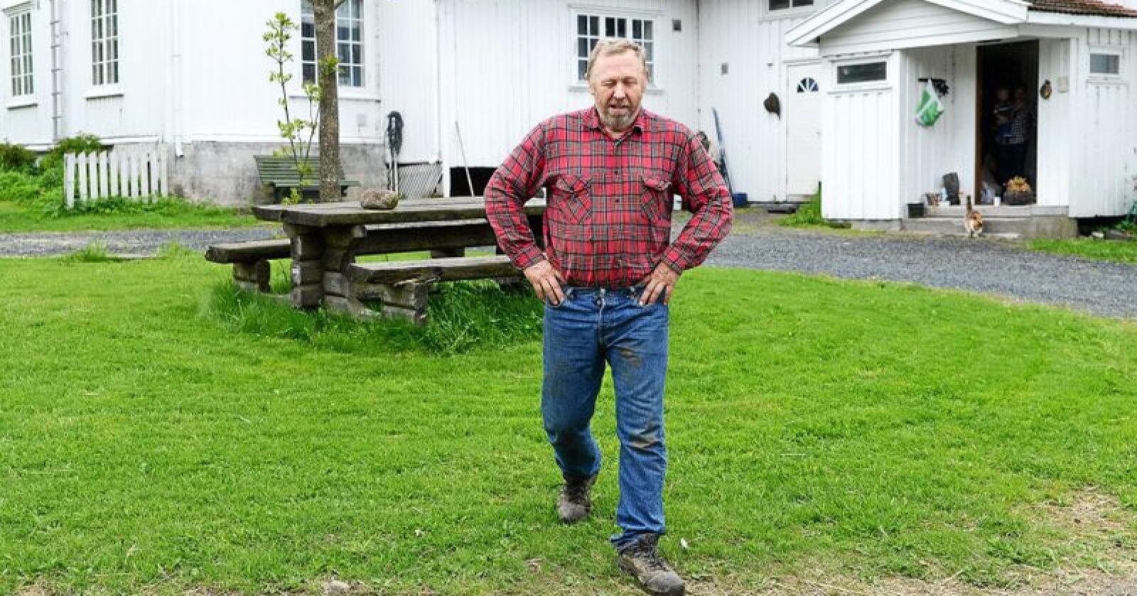 Dag Fossen bør lese alle landbrukets krav, anbefaler innsenderen. Foto: Siri Juell Rasmussen