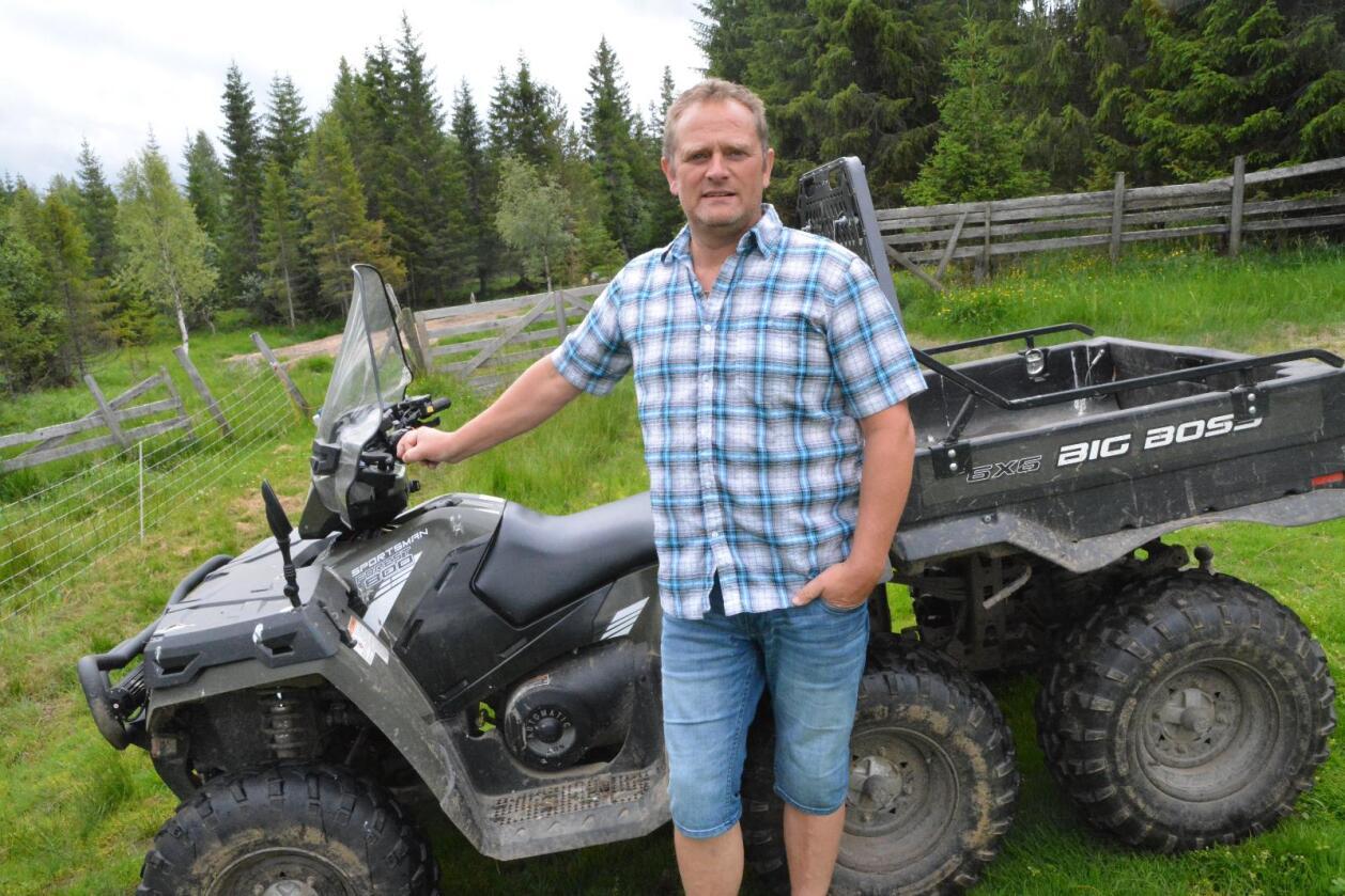 Gir alt: – Når jeg «går inn i noe», gjør jeg det 110 prosent, sier ny leder Kjell Erik Berntsen i Norsk Sau og Geit. (Foto: Anders Sandbu)